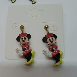Disney Minnie Mouse figural post earrings